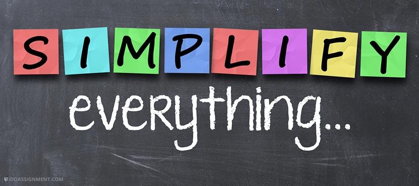 Simplifying Things